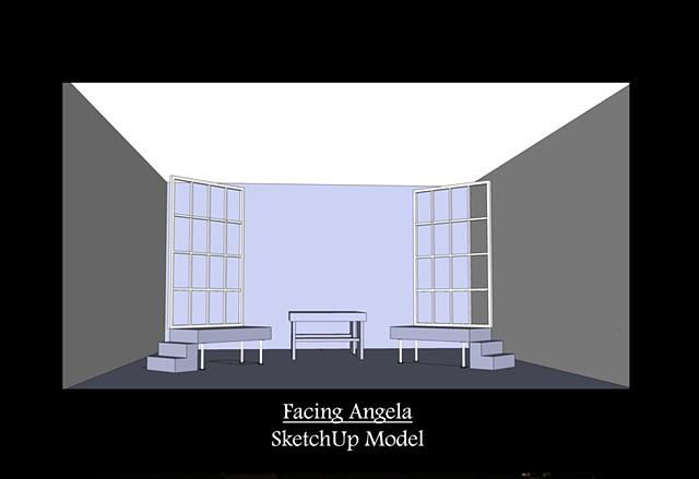 Facing Angela SketchUp Model 2