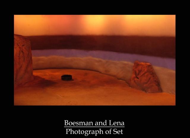 Boesman and Lena Photograph of Set
