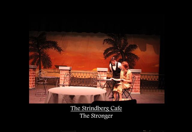 Strindberg Cafe - The Stronger Production Photo 1