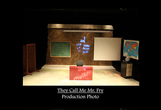 They Call Me Mr. Fry Production Photo 2