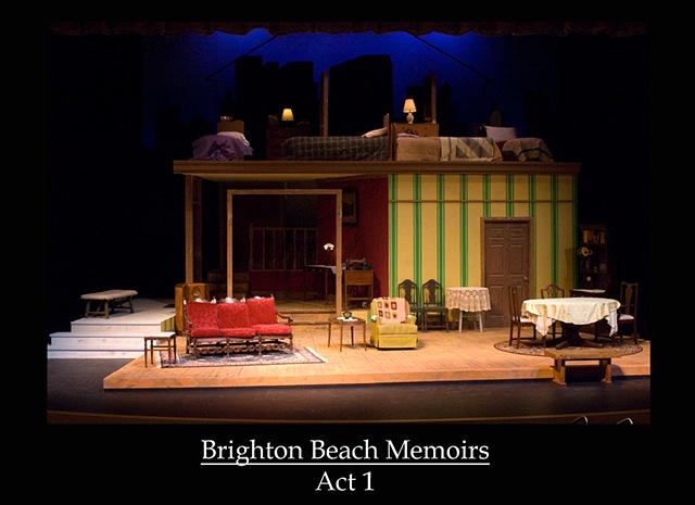 Brighton Beach Memoirs  Act 1