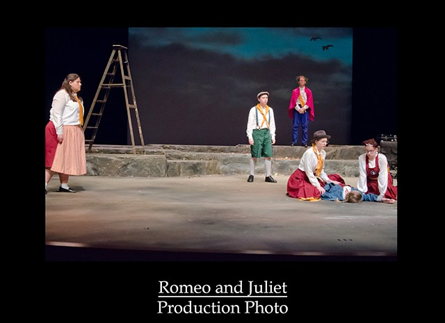 Romeo and Juliet Production Photo