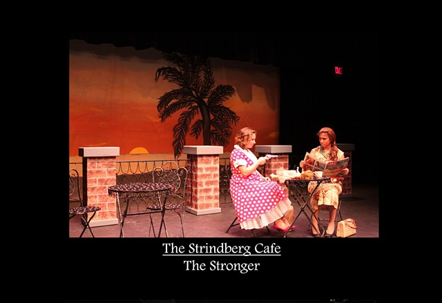 Strindberg Cafe - The Stronger Production Photo 3