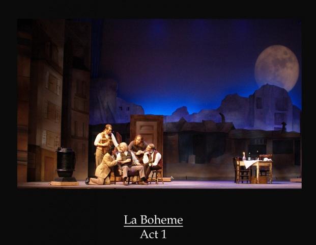 La Boheme Act 1