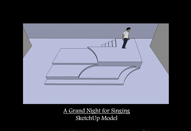 A Grand Night for Singing SketchUp Model 2