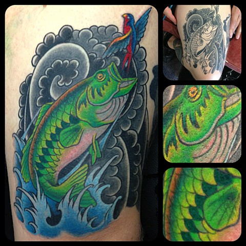 Fish Tattoo by Dan Wulff