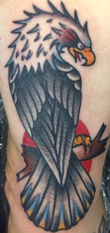 Eagle Tattoo by Greg Christian
