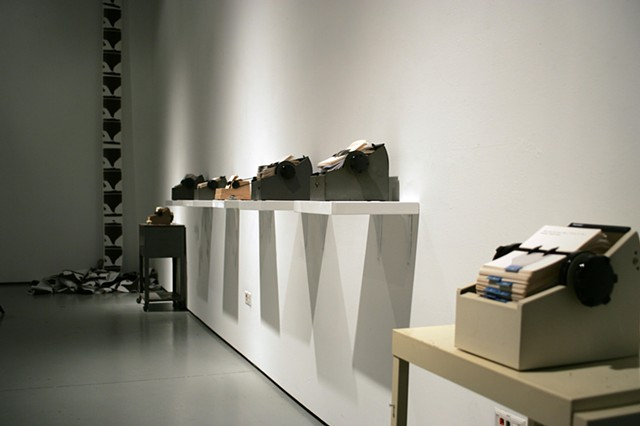 Rolodex Installation View