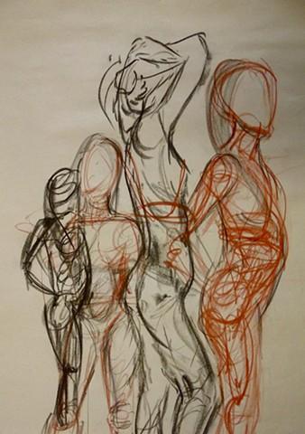 Figure Drawing Study