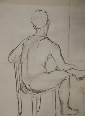 Figure Drawing/ Man II
