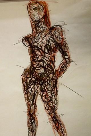 Figure Drawing/ Woman III