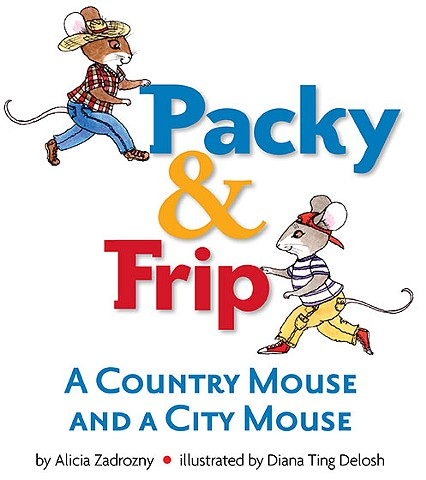 Packy & Frip, Country Mouse and City Mouse, Educational E-book
