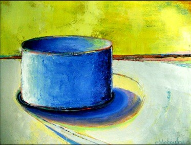 adrienne's blue cake