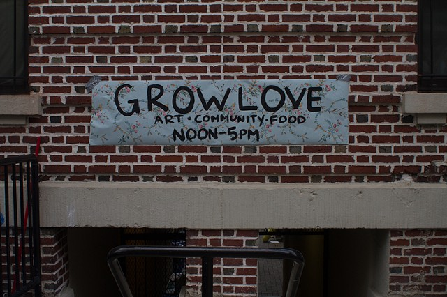 Grow Love//A Partnership with The Kelly Street Garden