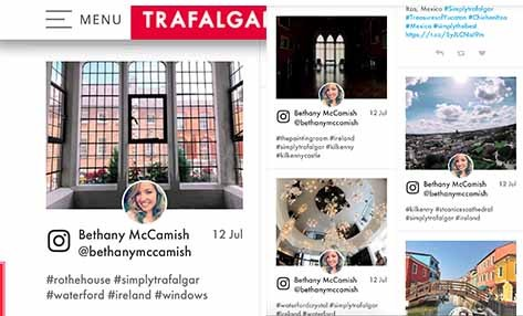 Featured and Published by Trafalgar Travel Co.