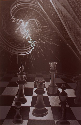 """The Tin Toy Series  """"Cheating At Chess"""""""