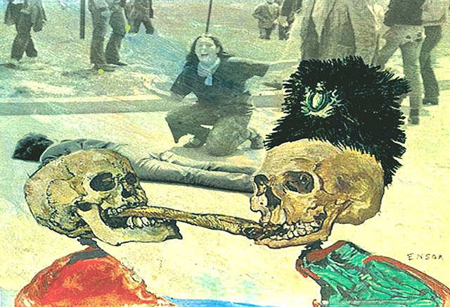 "Lessons in History Series  ""After Ensor/ Great Tug of War"""