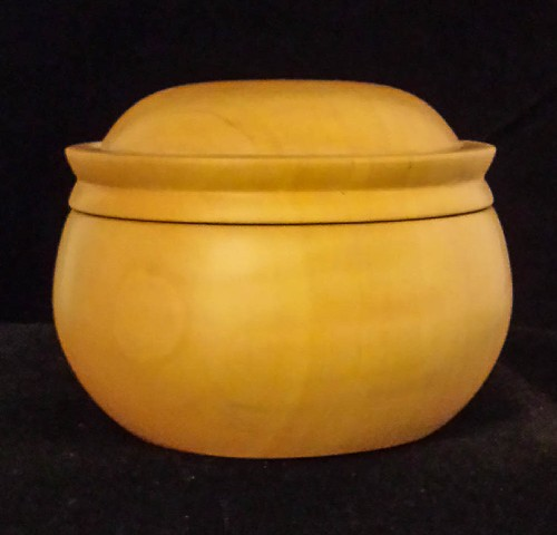 Maple Round Box