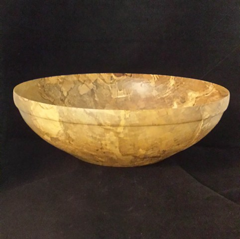 Spalted Holly Salad Bowl