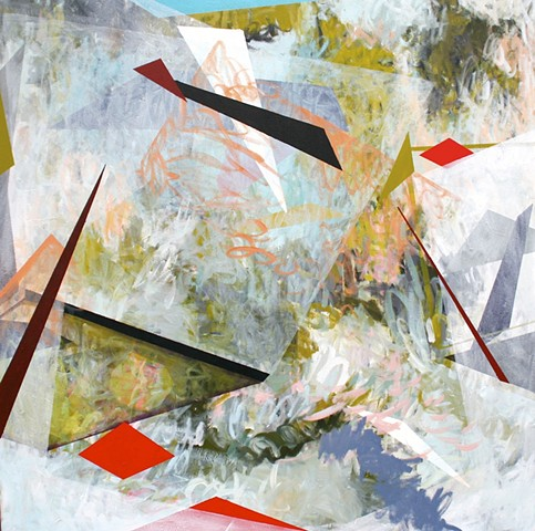 abstract art geometric erin mcintosh