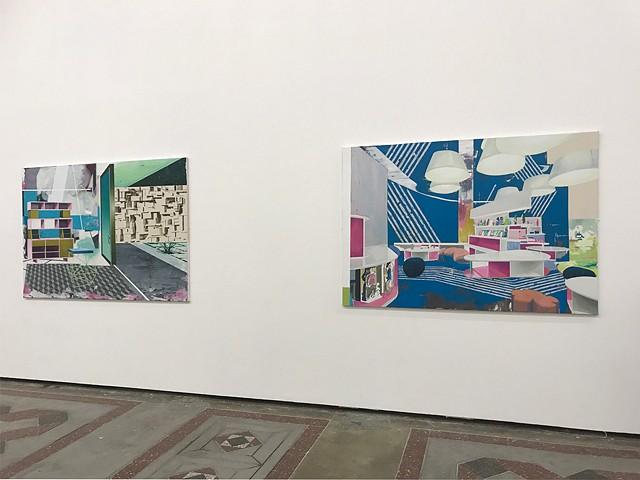 Phase II - Imagining Architecture (installation shot 3) institut supérieur des arts de Toulouse