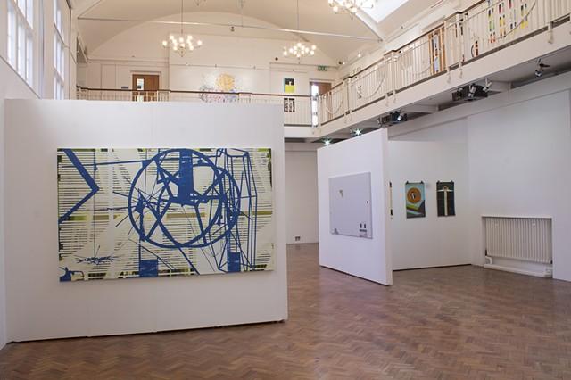 'Phase I' Ruskin Gallery, Cambridge Installation shot 1