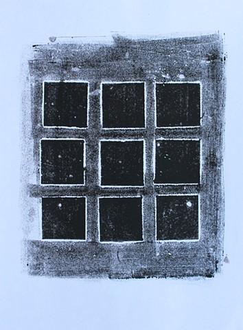 Nine Black Squares