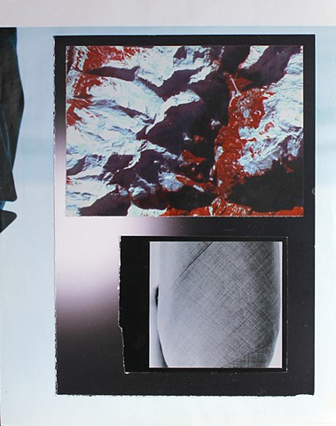 Abstract Textural Composition