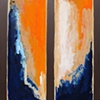 Blue Orange Split