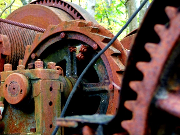 old gears