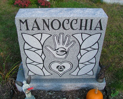 manocchia headstone (finished)