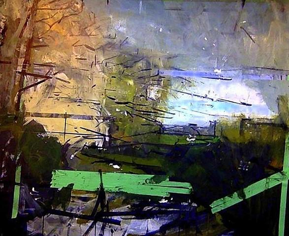 In Progress  oil on canvas 4'x5'