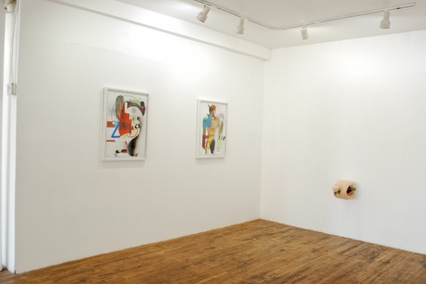 "Installation view of ""Transfiguration"" at LVL3 Gallery, Chicago"