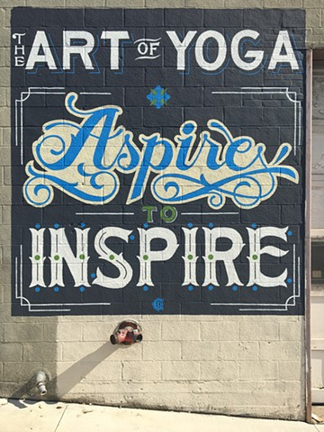 Handpainted, Lettering, Handtype, Typography, Columbus Ohio, Clintdavidson, artist, sign, hand lettering, public art, mural.