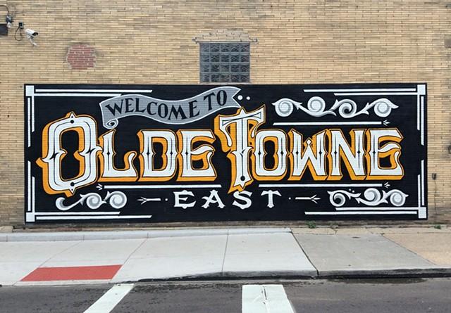 clint davidson On mural lettering