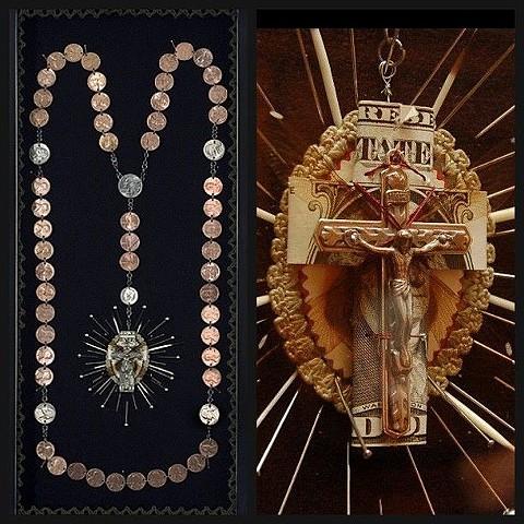 In God We Trust 2008 ~ Selective Superstition exhibit Mahan Gallery