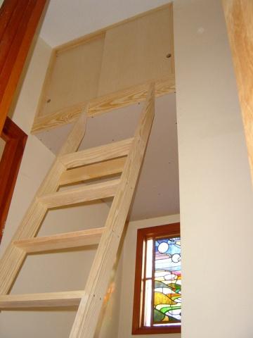 Stairwell Cabinet