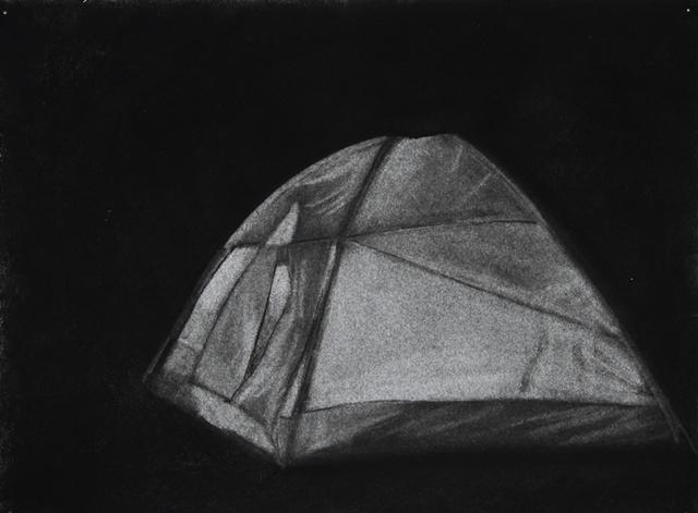 Glowing Tent (side)