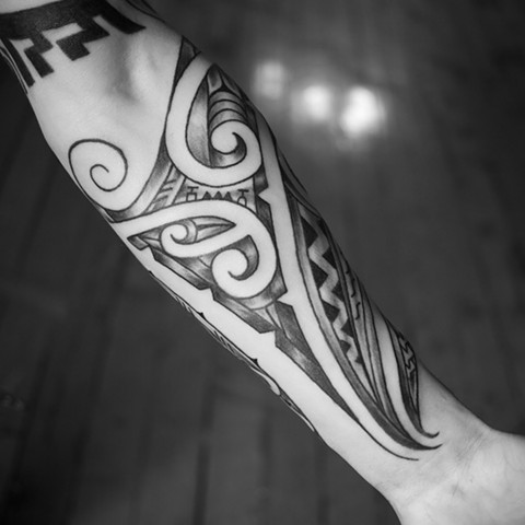 Maori inspired with some Polynesian as well.