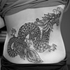 dotwork dragon