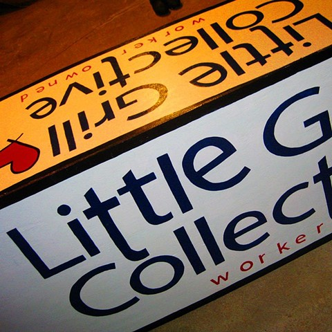 Little Grill Collective Sign