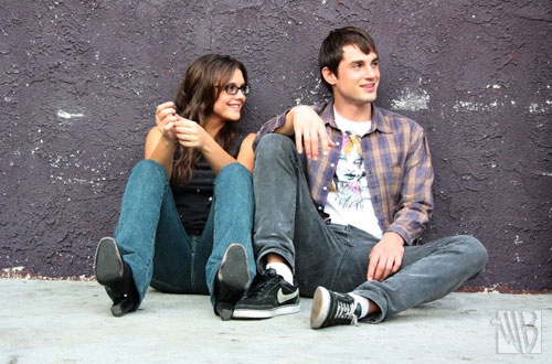 Alexandra Chando and Andrew J. West.  Promo shots for the WB's Rockville, CA