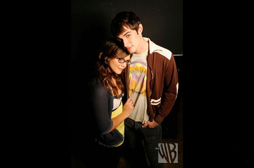 Alexandra Chando and Andrew J. West . Promo shots for the WB's Rockville, CA