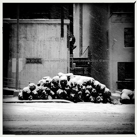 Blizzard '14 - Pile up NYC