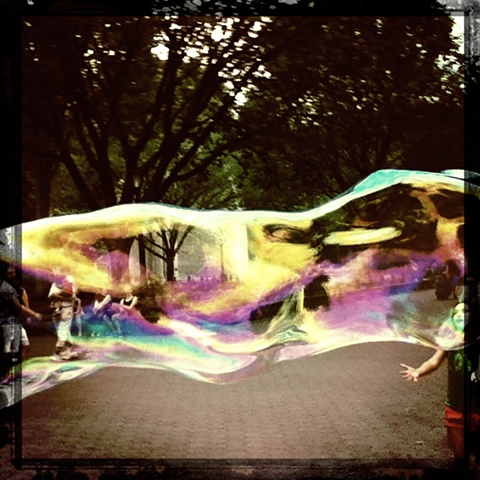 Big Bubble, Central Park