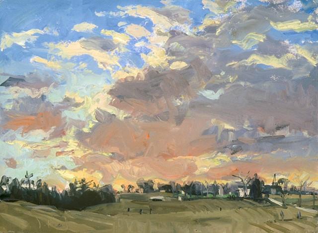 Whitemarsh Sunset IV