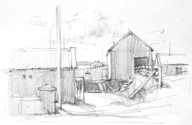 Carrowteige Buildings