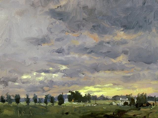 Whitemarsh Sunset V