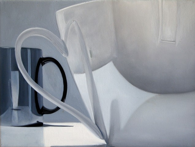 jeff sims, jeffrey sims, coffee, race, beauty, still life, still life painting, class