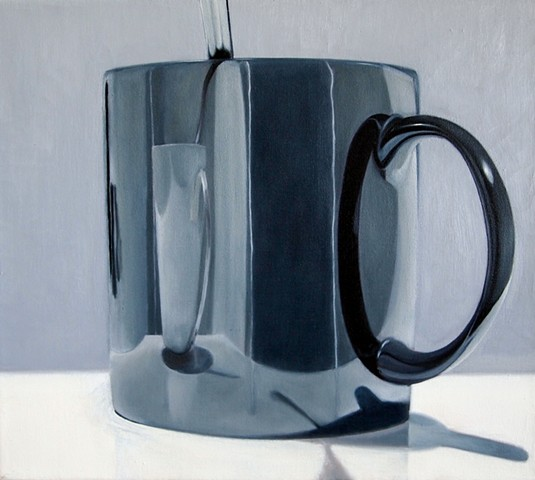 jeff sims, jeffrey sims, coffee, reflection, beauty, human, still life, humanity, still life painting